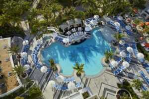 Отель Loews Miami Beach 5* Reception Pool