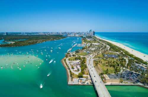 Где живут знаменитости в Майами (Карта)